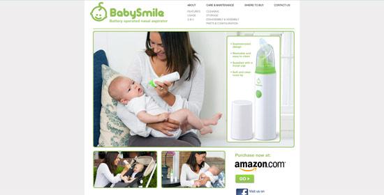 Baby Smile Community Website - Word Press Design