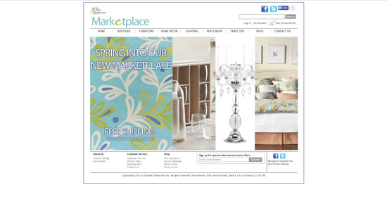 Elise Interior - Magento Web Design by XD Websites