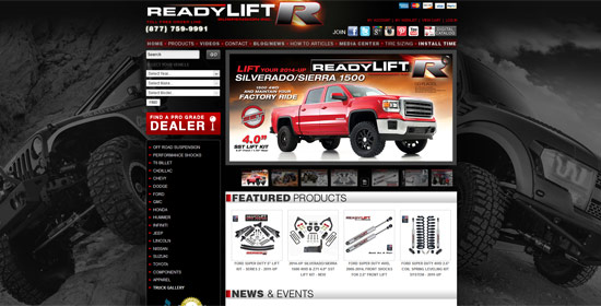 www.readylift.com - Magento Web Design by XD Websites