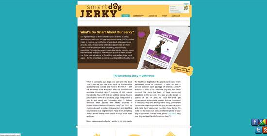 Smartdog Jerky - Magento Web Design by XD Websites